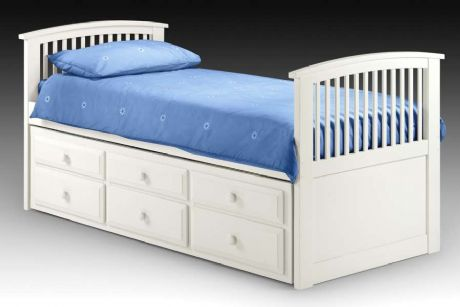 Horatio White Captain's Bed Sale Now On Your Price Furniture